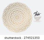thai art element for design ... | Shutterstock .eps vector #274521353