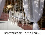 beautiful chairs at the wedding ... | Shutterstock . vector #274542083