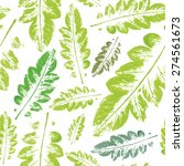 crazy beautiful imprint... | Shutterstock .eps vector #274561673