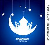 ramadan background. | Shutterstock .eps vector #274571657