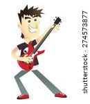 a cartoon vector illustration...   Shutterstock .eps vector #274573877