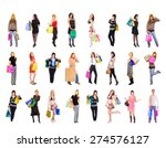 spending is fun isolated... | Shutterstock . vector #274576127