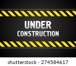 abstract black under... | Shutterstock .eps vector #274584617