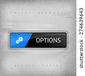 modern button options with... | Shutterstock .eps vector #274639643