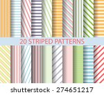 20 color stripes seamless...