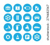 auto icons universal set for... | Shutterstock .eps vector #274682567