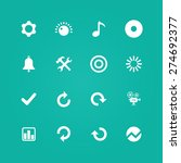 auto icons universal set for... | Shutterstock .eps vector #274692377