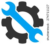 service tool icon. this... | Shutterstock .eps vector #274711127