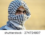 arabic palestinian man | Shutterstock . vector #274724807