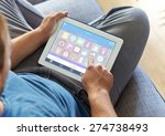 smart house  home automation ...   Shutterstock . vector #274738493