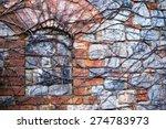 dry vine waiting for spring... | Shutterstock . vector #274783973