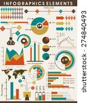 various business infographics... | Shutterstock .eps vector #274840493