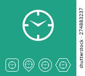clock icon on flat ui colors...