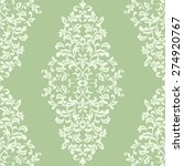 floral vintage wallpaper in... | Shutterstock .eps vector #274920767