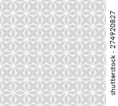 grey ornamental symmetric... | Shutterstock .eps vector #274920827