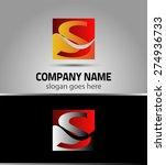 letter s logo symbol  | Shutterstock .eps vector #274936733