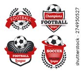vector set badges logos red for ... | Shutterstock .eps vector #274950527