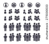 social network people...   Shutterstock .eps vector #275030033