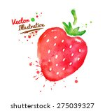 vector watercolor hand drawn...