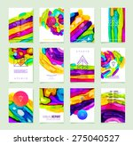 set of cards for marriage ... | Shutterstock .eps vector #275040527