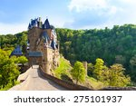road to the eltz castle with... | Shutterstock . vector #275101937