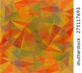 abstract polygonal pattern on a ... | Shutterstock . vector #275117693