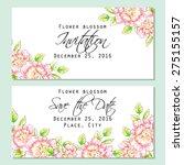 flower blossom. romantic... | Shutterstock .eps vector #275155157