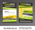 flyer  brochure or magazine... | Shutterstock .eps vector #275213273