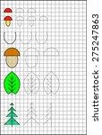 exercises for young children on ... | Shutterstock .eps vector #275247863