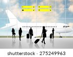 international airport terminal... | Shutterstock . vector #275249963