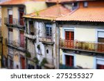 old buildings with red roofs | Shutterstock . vector #275255327