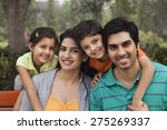portrait of a happy family... | Shutterstock . vector #275269337
