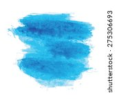 blue watercolor texture... | Shutterstock .eps vector #275306693