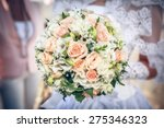 bridal bouquet   Shutterstock . vector #275346323