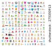 biggest collection of vector logos people  | Shutterstock vector #275350913