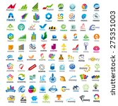 large set of vector logos Finance | Shutterstock vector #275351003