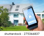 smart house  home automation ...   Shutterstock . vector #275366837