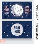 invitation template to full... | Shutterstock .eps vector #275447837