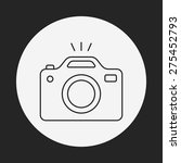 camera line icon | Shutterstock .eps vector #275452793