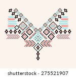 ethnic neck embroidery for... | Shutterstock .eps vector #275521907