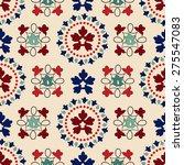 victorian seamless pattern | Shutterstock .eps vector #275547083