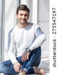 young cheerful man | Shutterstock . vector #275547197