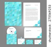 corporate identity business set ... | Shutterstock .eps vector #275569253