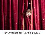 impatient young boy actor... | Shutterstock . vector #275614313