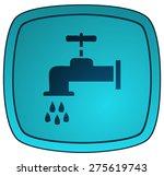 faucet silhouette sign  vector... | Shutterstock .eps vector #275619743