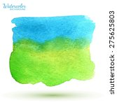 watercolor abstract background  ... | Shutterstock .eps vector #275625803