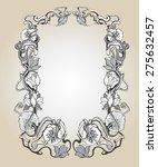 vintage frame  ornament and...   Shutterstock .eps vector #275632457