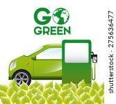 eco friendly design  vector... | Shutterstock .eps vector #275636477
