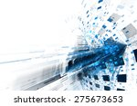 abstract business science or... | Shutterstock . vector #275673653