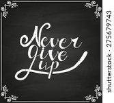 conceptual handwritten phrase... | Shutterstock .eps vector #275679743